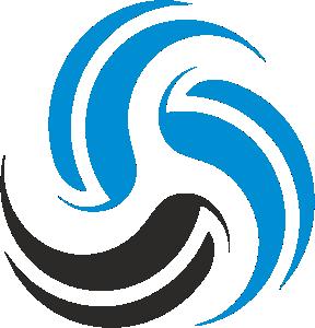 logo airspin round